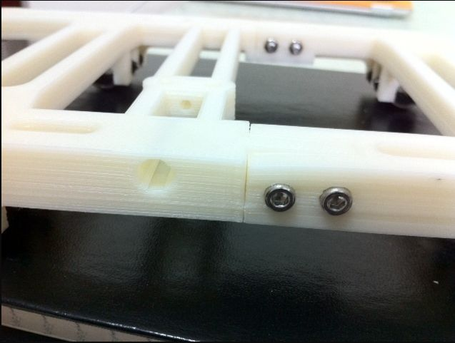 Prusa i2 Basisplaat (y-carriage) v1 foto 03