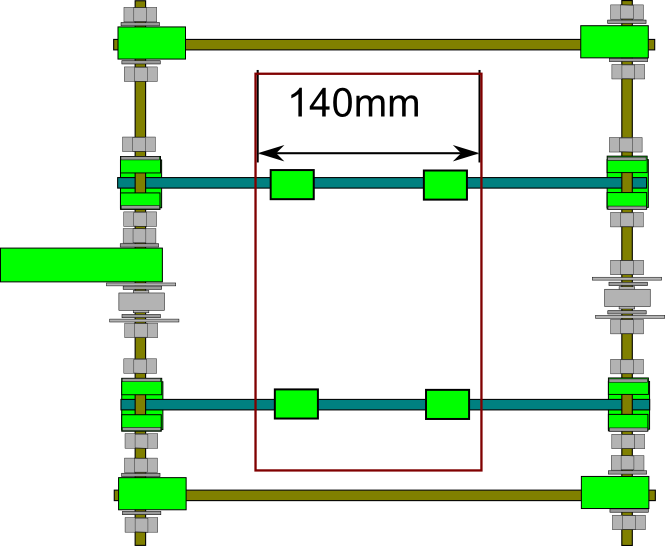 Prusa i2 Mendel instructie y-plate