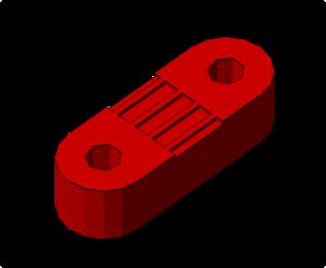 Prusa i2 Mendel onderdeel belt-clamp
