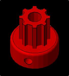 Prusa i2 Mendel onderdeel pulley