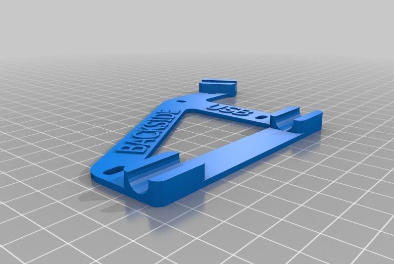 RAMPS houder (Prusa i2 mendel) model