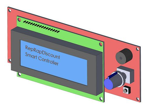 Reprap Discount Smart Controller cartoon
