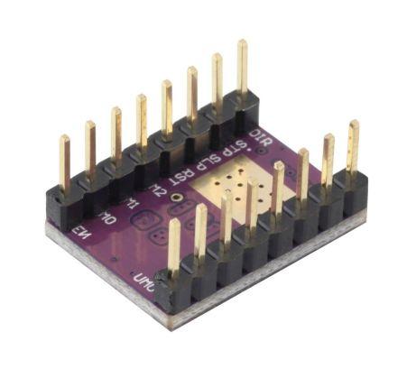 Stappenmotor aansturing module DRV8825 onderkant