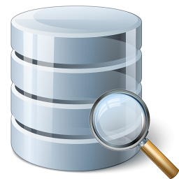database zoeken icon