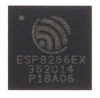 ESP8266 chip bovenkant