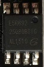 GD25Q80BT geheugen chip