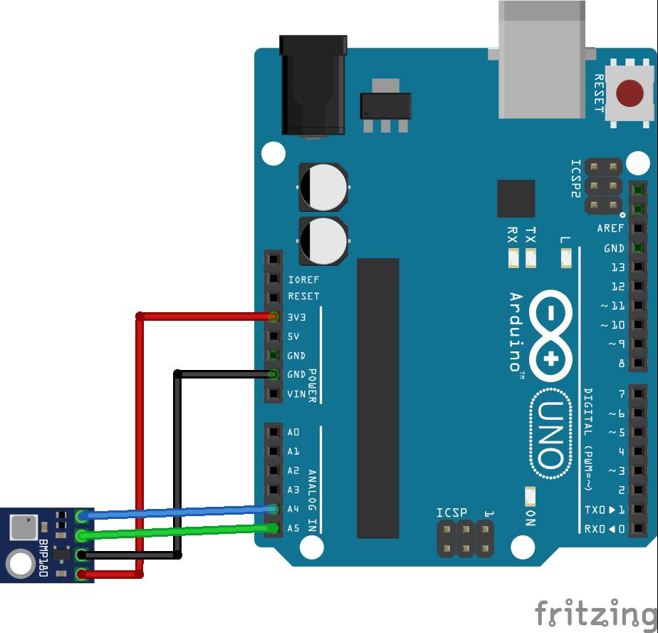 bmp180 arduino schema