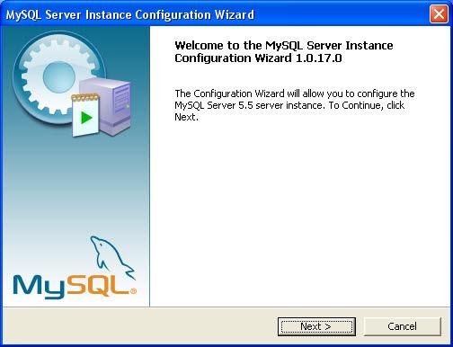 mysql server config 01