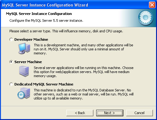 mysql server config 03