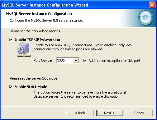 mysql server config 07