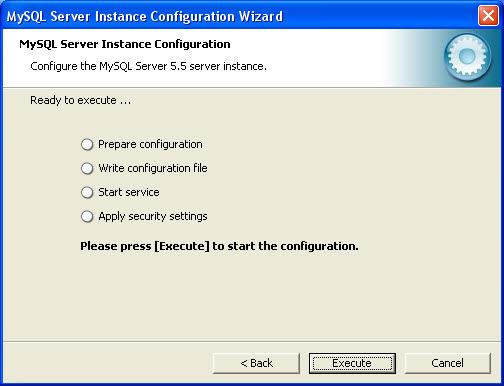 mysql server config 11