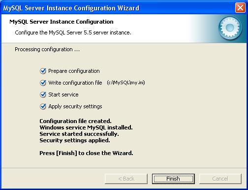 mysql server config 12