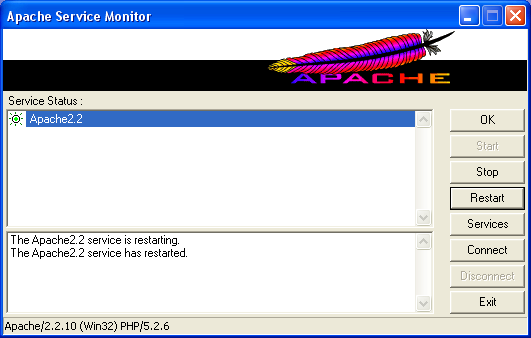 php apache 2.2.x met php 5.2.x