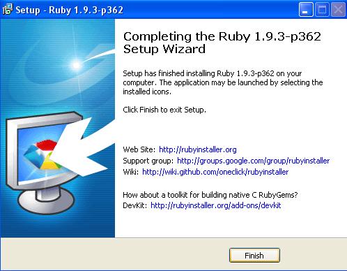 ruby installatie 03