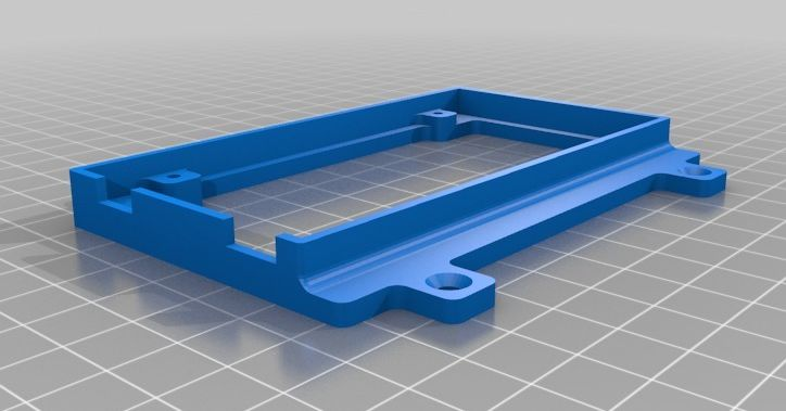 Arduino Ramps Mounting Plate model