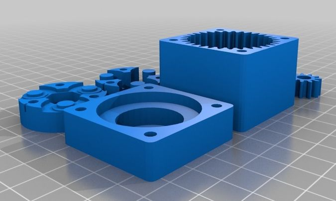 Compact Planetary Gearbox model