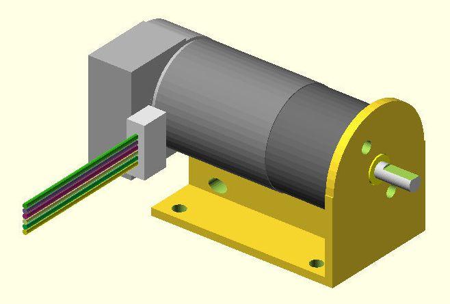 Gearmotor Bracket model