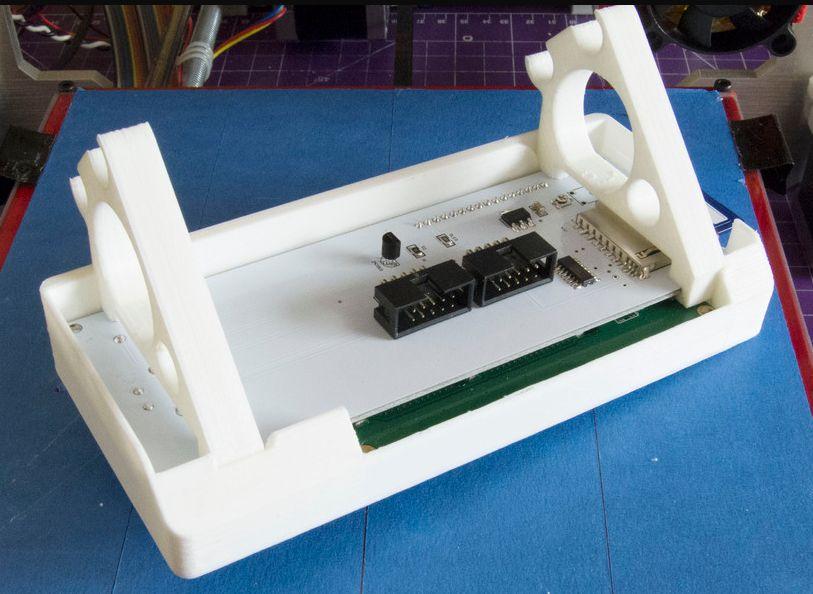 LCD scherm houder (RepRapDiscount) (Prusa i3) foto 02