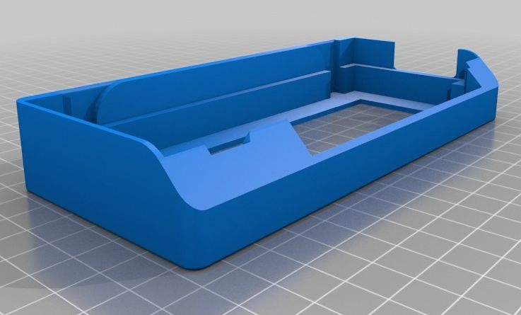 LCD scherm houder (RepRapDiscount) (Prusa i3) model