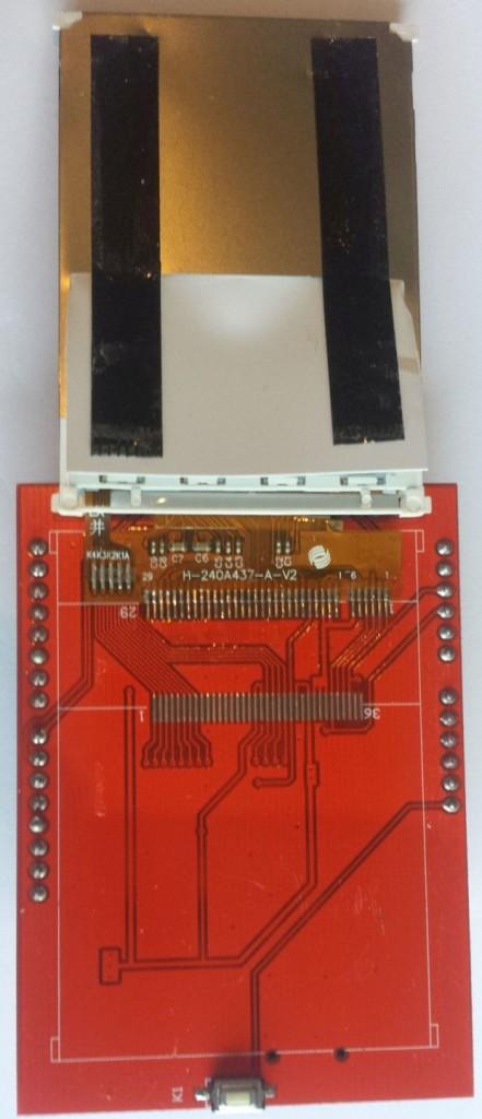 MCUFriend 2.4 inch LCD Shield - xxxxxx driver (0x0000) - binnenkant