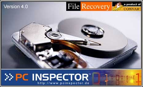 PC Inspector File Recovery 4.0 banner