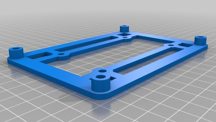 RAMPS 1.4 Mounting Bracket model