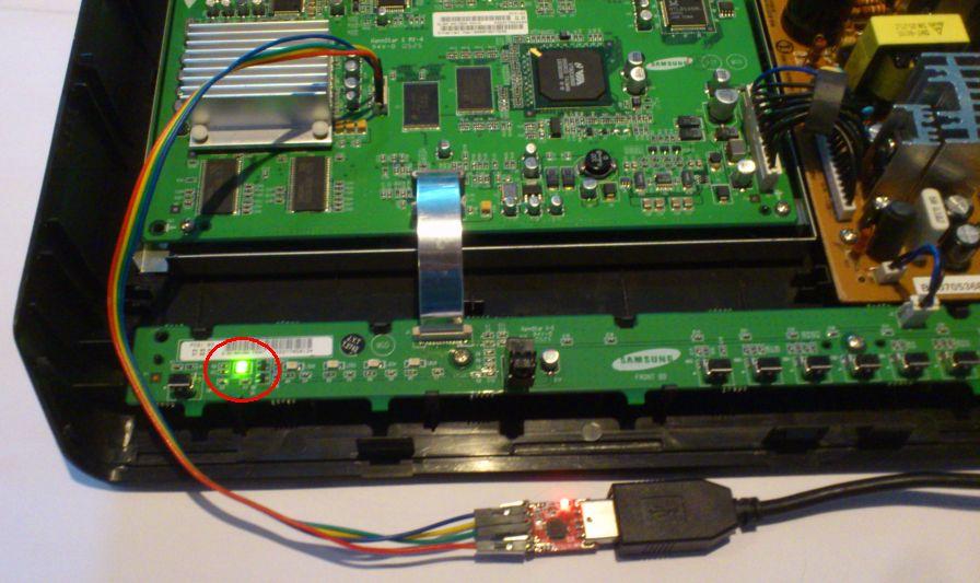 SMT-6010E led groen