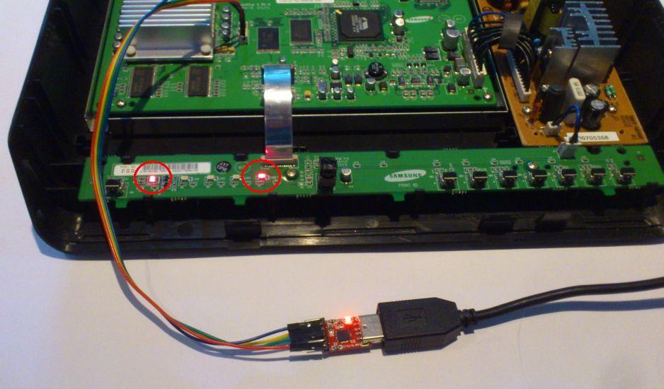 SMT-6010E led rood