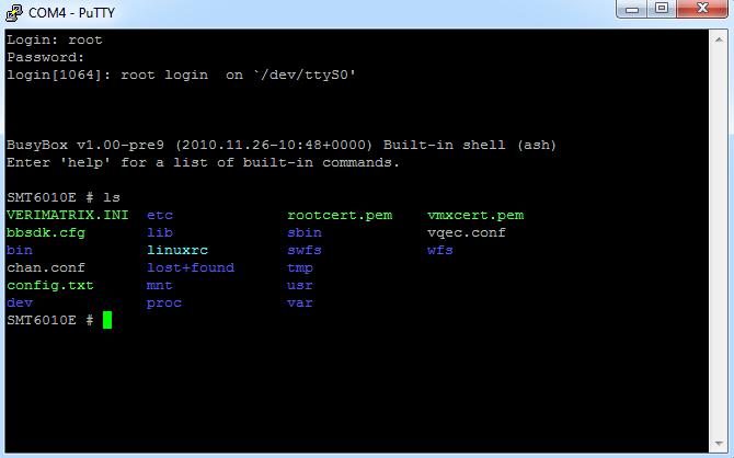 SMT-6010E root login