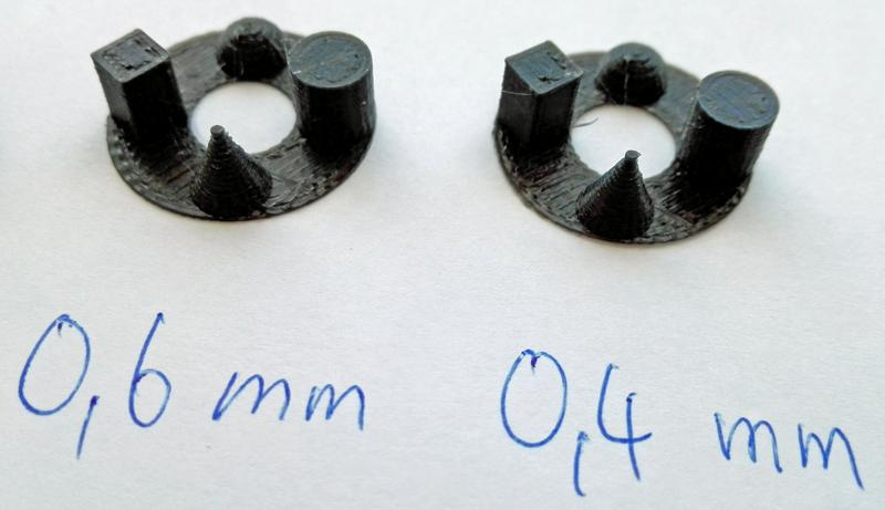 retract 0.4mm 0.6mm 80mms