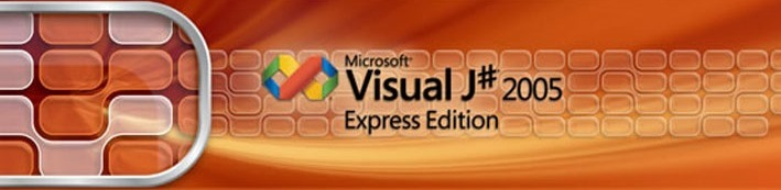 visual j# 2005 banner