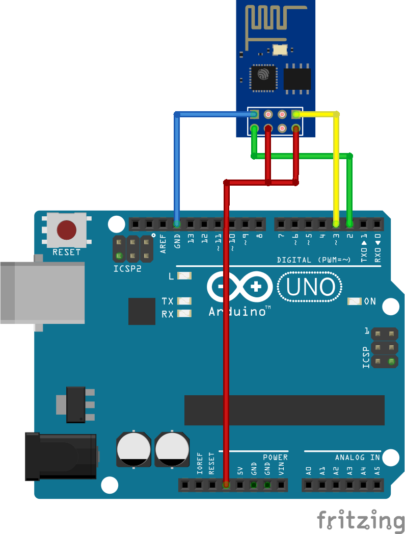 ESP8266 - ESP-01 op Arduino
