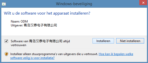 Hantek 6022BE Oscilloscoop Windows 8 stuurprogramma 02