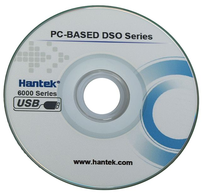 Hantek 6022BE Oscilloscoop software CD-rom