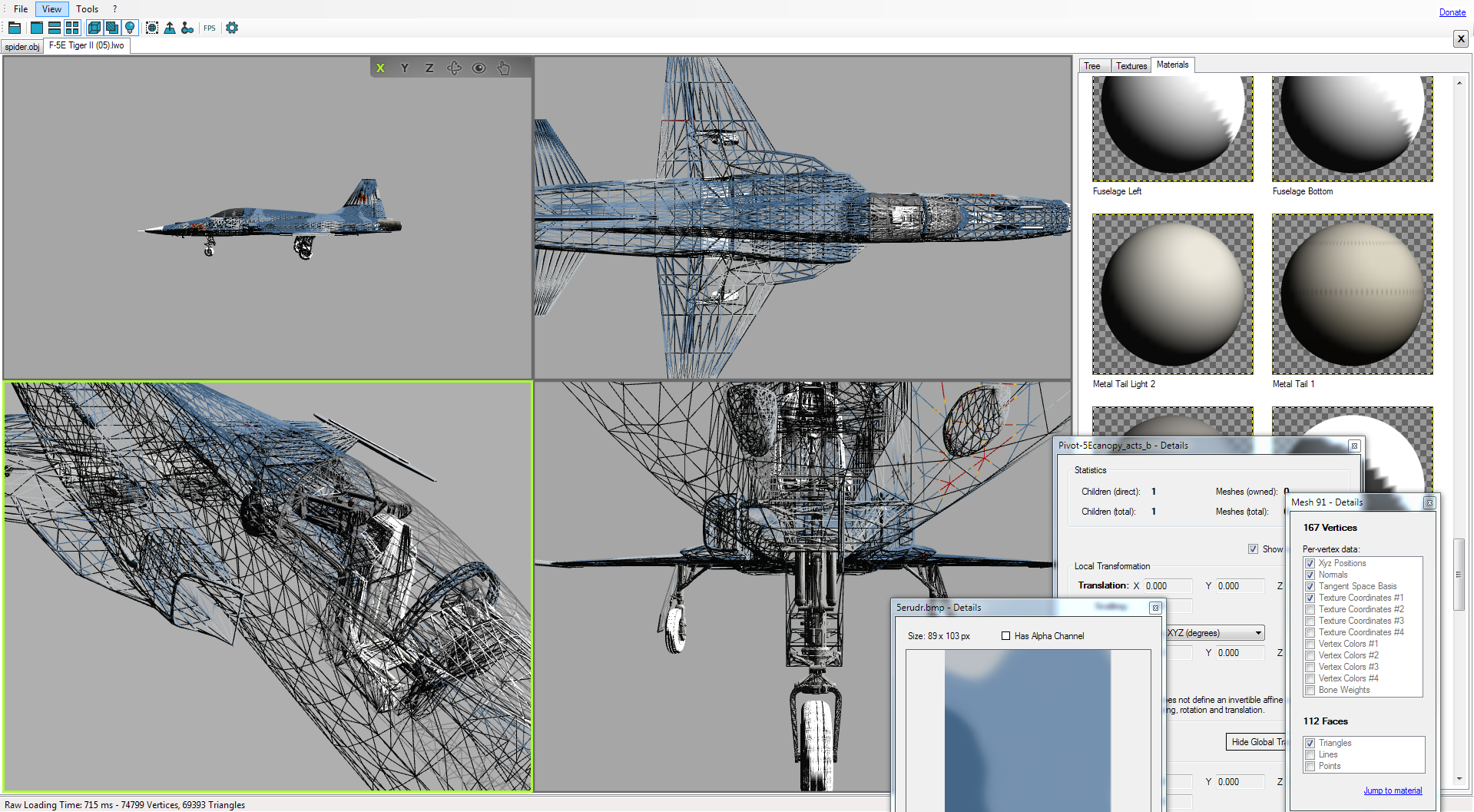 Open 3D Model Viewer screen 01