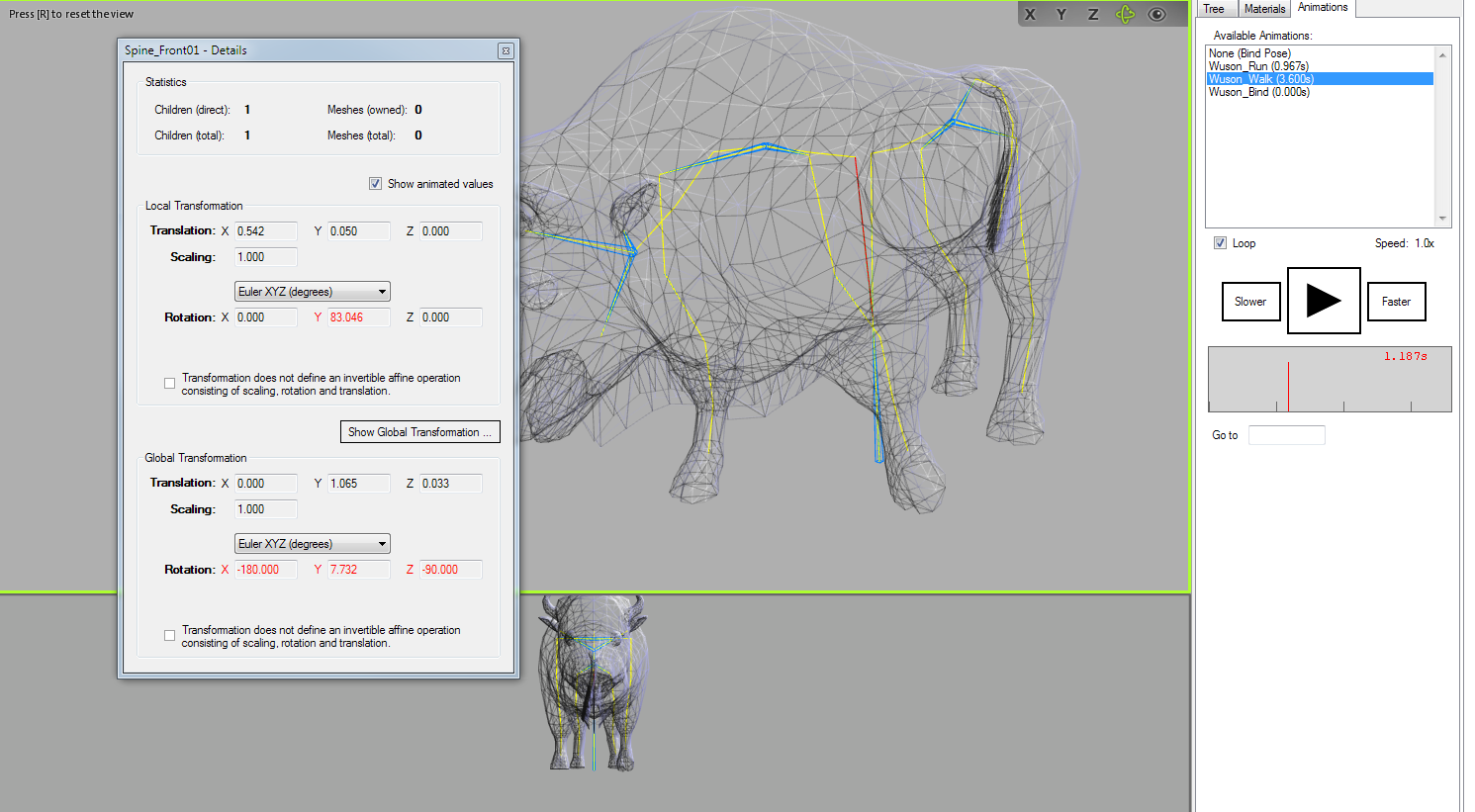 Open 3D Model Viewer screen 02