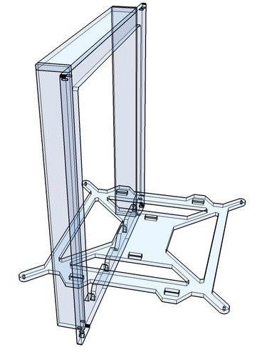 Prusa i3 Mega frame