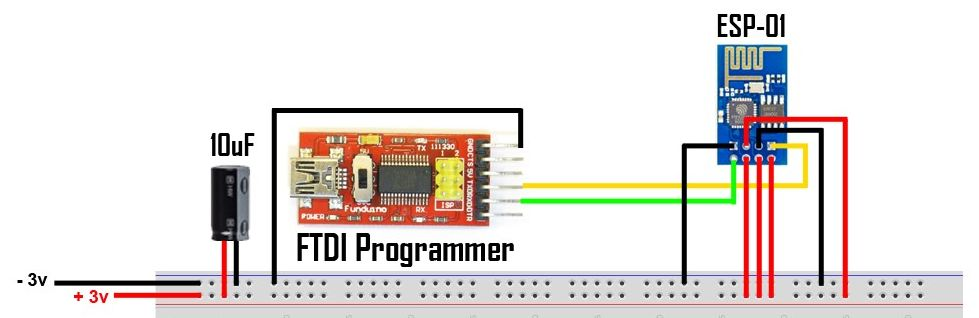 ESP-01 - FTDI Programmer