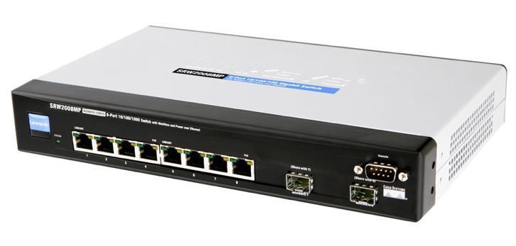 Linksys SRW2008x managed switch