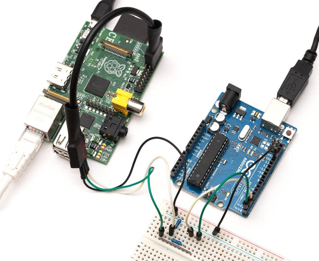 Raspberry en Arduino seriele communicatie