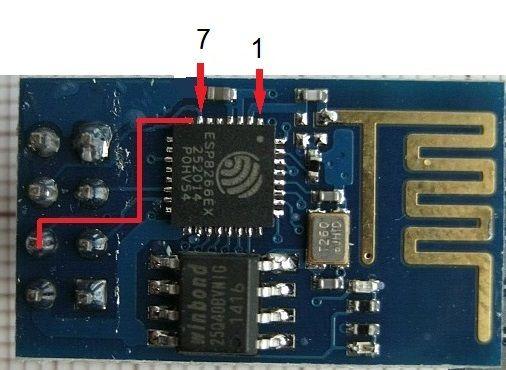 ESP8266 ESP-01 slaap functie gebruiken