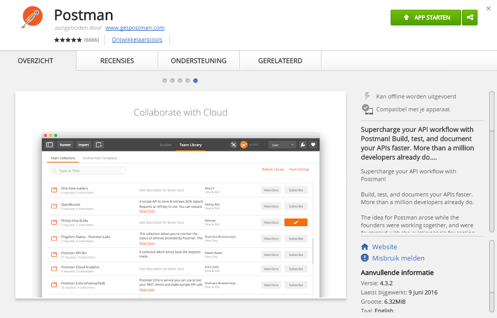 chrome postman plugin