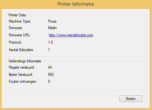 geeetech prusa i3 printer settings