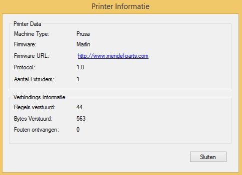 geeetech prusa i3 printer settings