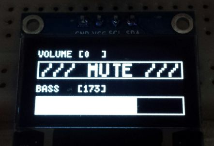 Arduino - Creative Audio project - MUTE