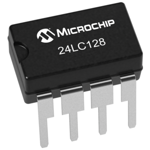 EEPROM geheugen 128 Kbit - 16 Kb (24LC128) chip