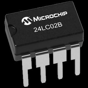 EEPROM geheugen 2 Kbit - 256 Byte (24LC02B) chip