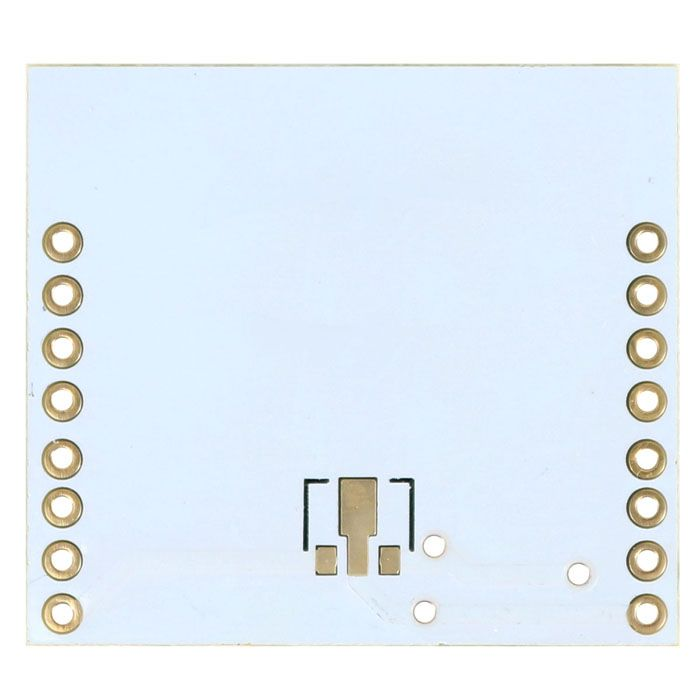 ESP8266 WiFi module adapter plaat met header pins onderkant