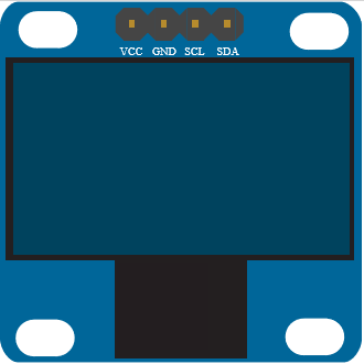 OLED I2C Display128x64 pixels