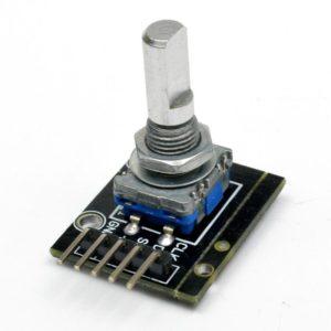 Rotary encoder module KY-040 bovenkant